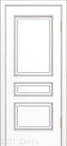 Двери-Лайндор-Калина-П-эмаль-белая