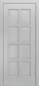 Двери-Лайндор-Аврора-К-эмаль-серая