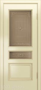 Двери-Лайндор-Калина-П-эмаль-бисквит-стекло-Калина-бронза