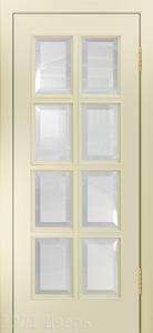 Двери-Лайндор-Аврора-К-эмаль-бисквит-стекло-фацет